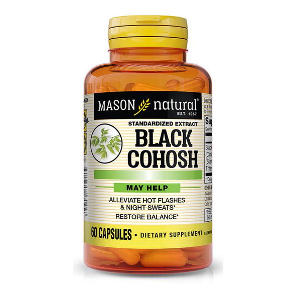 Mason Natural Black Cohosh Capsules - 60 ct