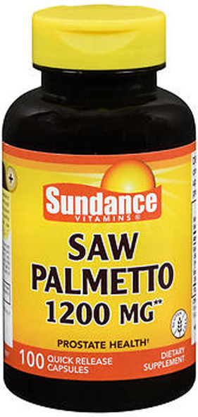 Sundance Vitamins Saw Palmetto 1200 mg - 100 Capsules