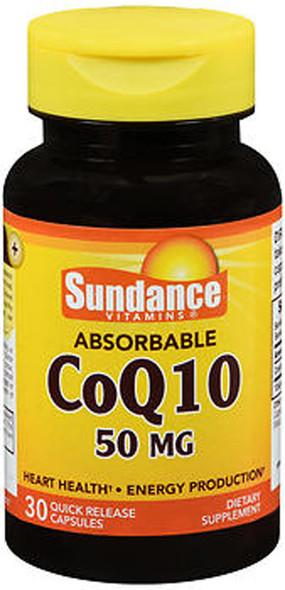 Sundance Vitamins Absorbable CoQ10 50mg - 30 Capsules