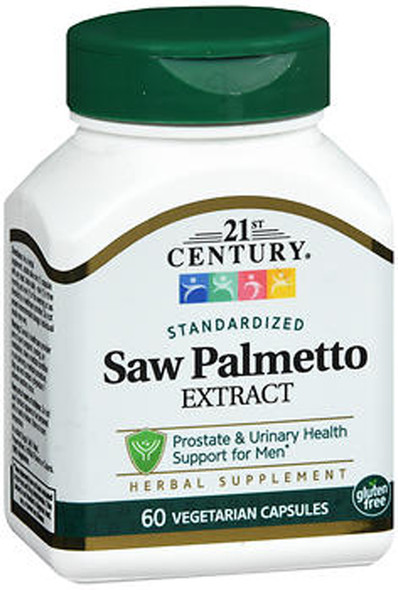 21st Century Saw Palmetto  - 60 Vegetarian Capsules