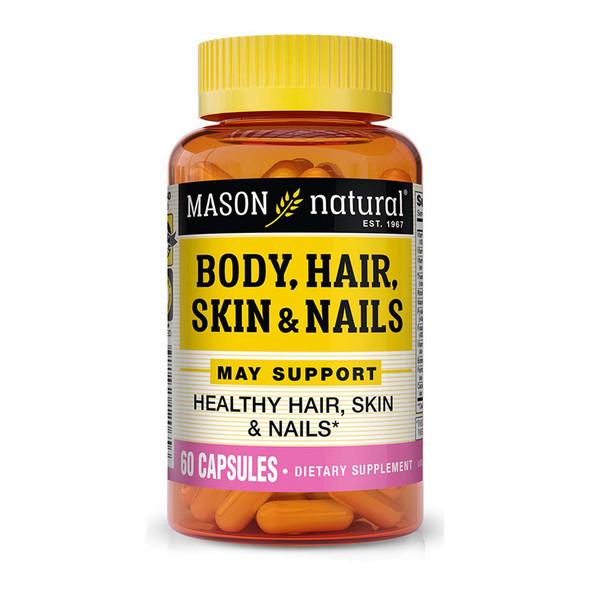 Mason Natural Body, Hair, Skin & Nails - 60 Capsules