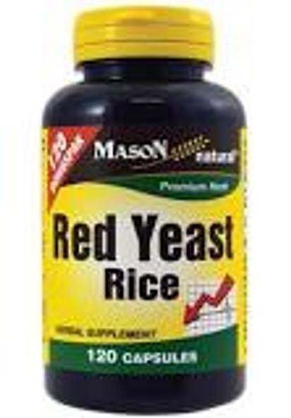 Mason Natural Red Yeast Rice Capsules - 60ct