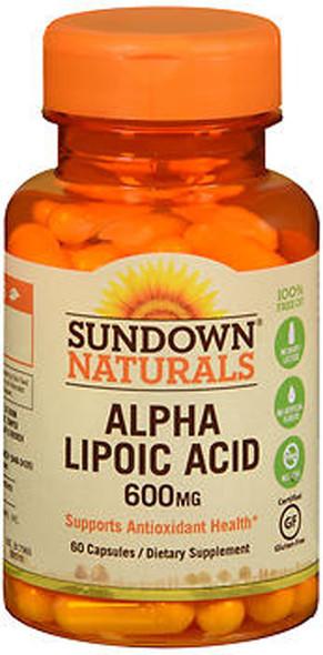 Sundown Naturals Super Alpha Lipoic Acid 600 mg Capsules - 60 ct