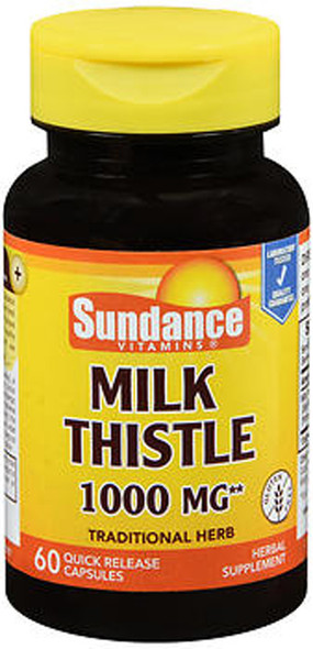 Sundance Vitamins Milk Thistle 1000 mg - 60 Capsules