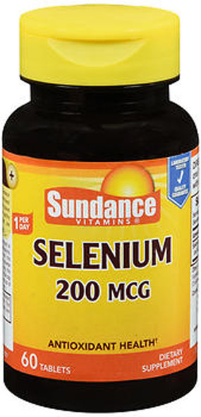Sundance Selenium 200 mcg - 60 Tablets
