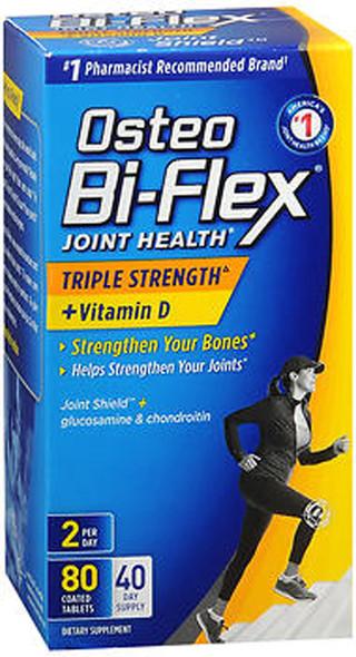 Osteo Bi-Flex Joint Shield with Vitamin D Advanced Triple Strength Caplets - 80 ct