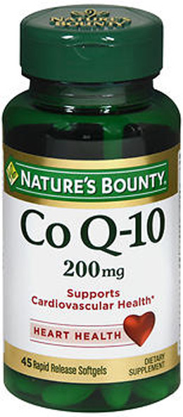 Nature's Bounty Extra Strength Co Q-10 200 mg Softgels -45 ct