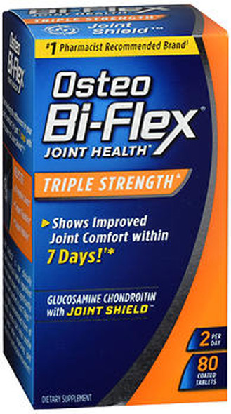 Osteo Bi-Flex Joint Health Coated Tablets Triple Strength - 80ct