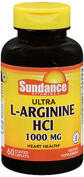 Sundance Ultra L-Arginine HCl 1000 mg - 60 Coated Caplets