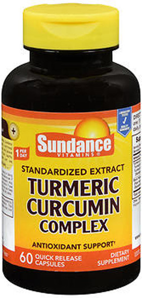 Sundance Turmeric Curcumin Complex Quick Release - 60 Capsules