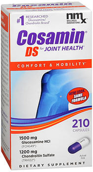 Cosamin DS Joint Health Supplement Capsules - 210 ct