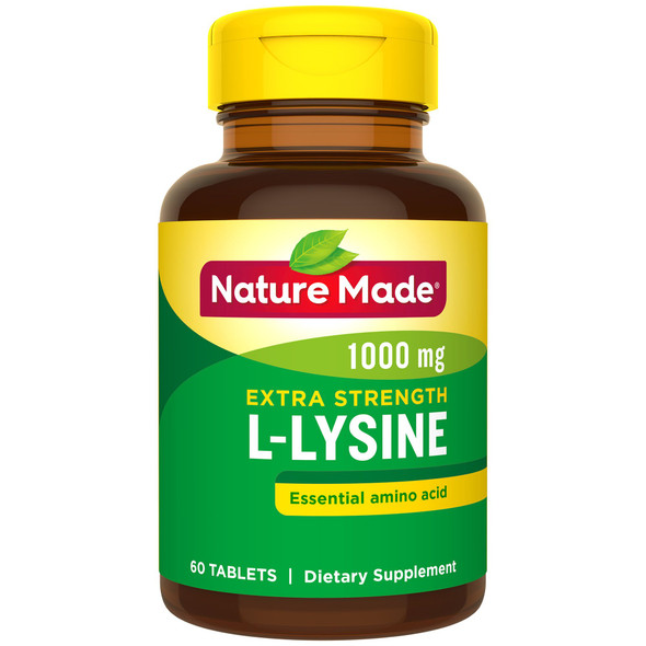 Nature Made L-Lysine 1000 mg Tablets - 60 ct