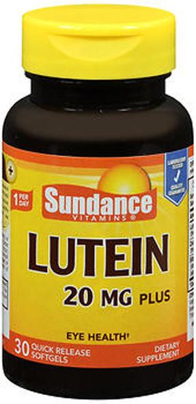 Sundance Vitamins Lutein 20 mg Plus - 30 Softgels
