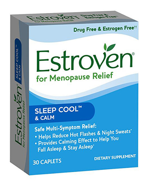 Estroven Nighttime Multi-Symptom Menopause Supplement - 30 Caplets