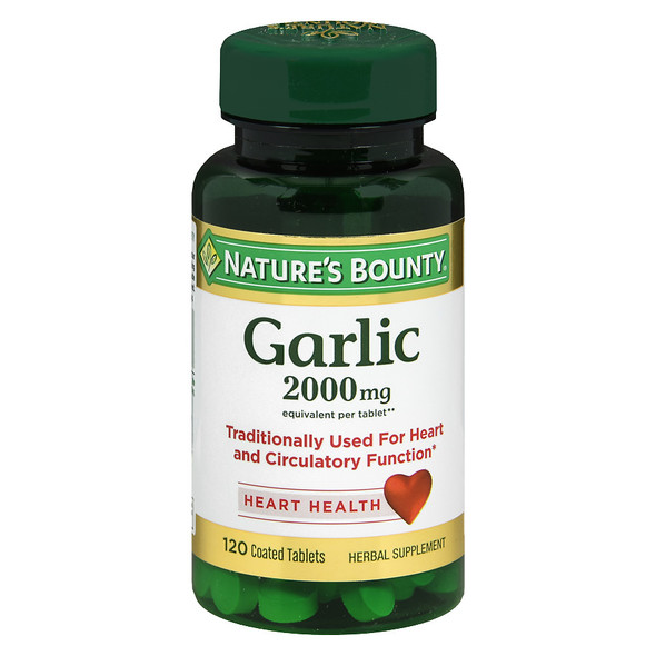 Nature's Bounty Garlic 2000 mg Tablets - 120