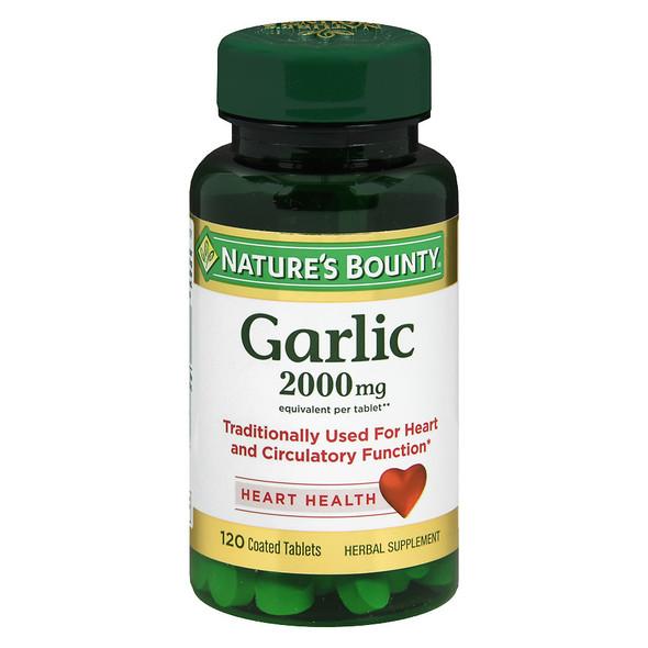 Nature's Bounty Garlic 2000 mg Tablets - 120