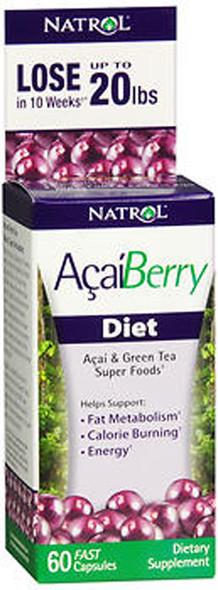 Natrol Acai Berry Diet - 60 Capsules