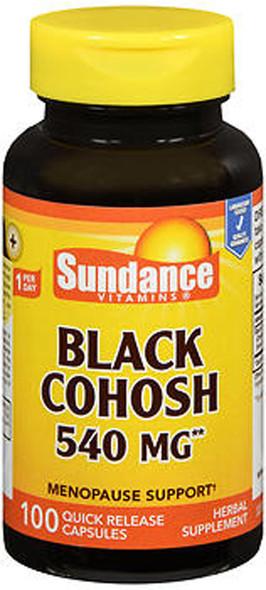 Sundance Black Cohosh - 100 Quick Release Capsules