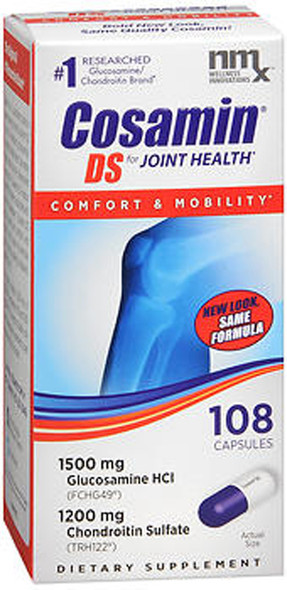 Cosamin DS Joint Health Supplement Capsules - 108 ct
