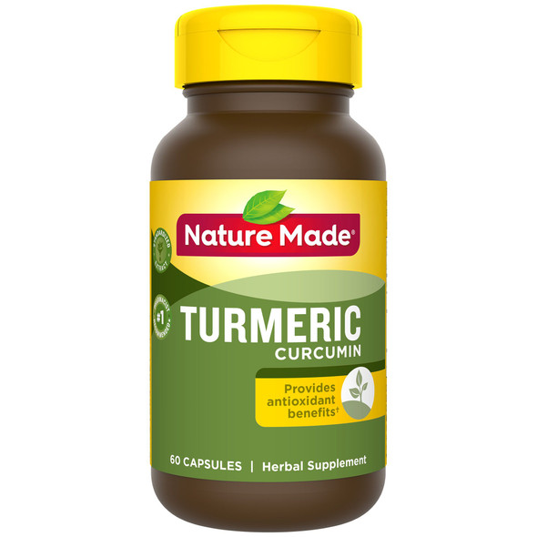 Nature Made Turmeric Curcumin - 60 Capsules