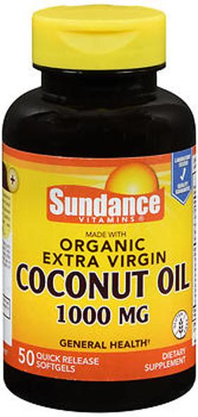 Sundance Vitamins Extra Virgin Coconut Oil 1000 mg - 50 Softgels