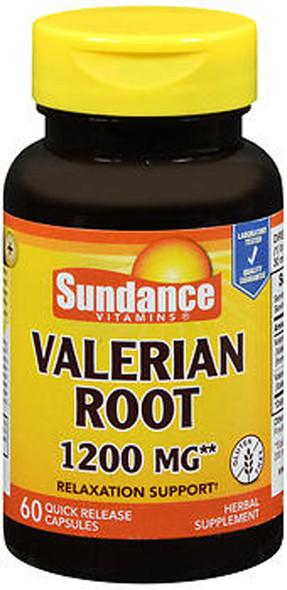 Sundance Vitamins Valerian Root 1200 mg - 60 Capsules