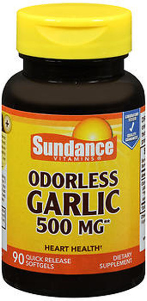 Sundance Vitamins Odorless Garlic 500 mg - 90 Softgels