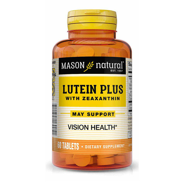Mason Natural Lutein Plus with Zeaxanthin Tablets - 60 ct