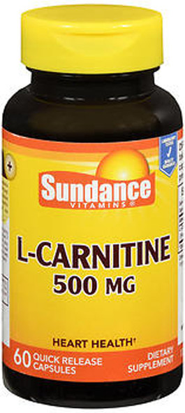 Sundance L-Carnitine 500 mg - 60 Quick Release Capsules