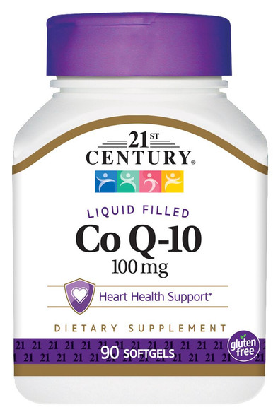 21st Century Co Q-10 100 mg Softgels - 90 ct