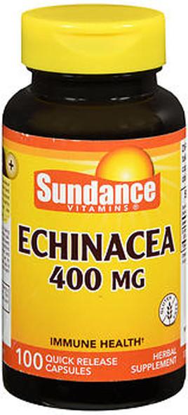 Sundance Echinacea 400 mg Quick Release - 100 Capsules