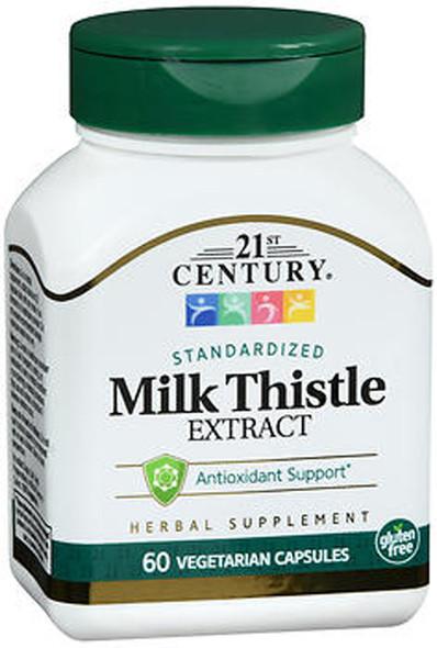 21st Century Milk Thistle Extract Vegetarian Capsules - 60 ct