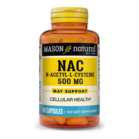 Mason Natural NAC, N-Acethyl-L-Cysteine Capsules - 60 Capsules