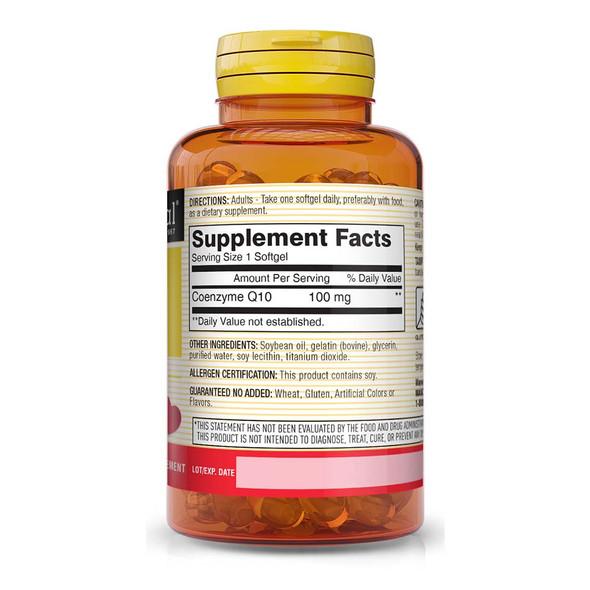 Mason Natural Co Q-10 100 mg Softgels - 30 ct