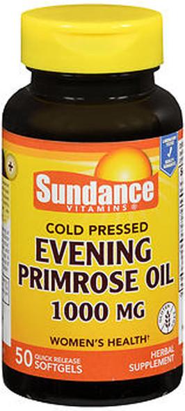 Sundance Vitamins Evening Primrose Oil 1000 mg - 50 Softgels