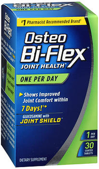 Osteo Bi-Flex Joint Health Coated Tablets One Per Day - 30 ct