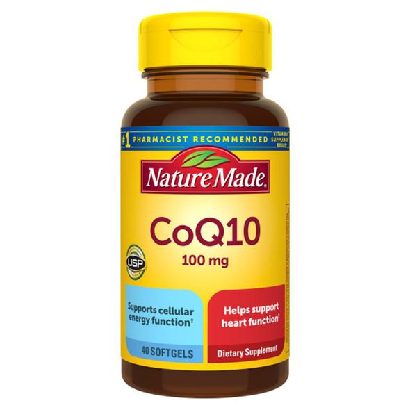 Nature Made CoQ10 100 mg Softgels - 30 ct