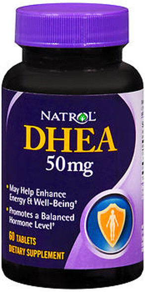 Natrol DHEA 50 mg Tablets - 60 ct