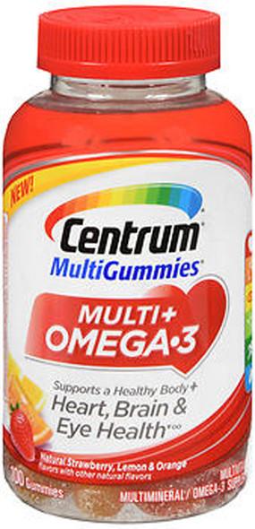 Centrum Omega 3 Multi Gummies Multivitamins - 100 ct