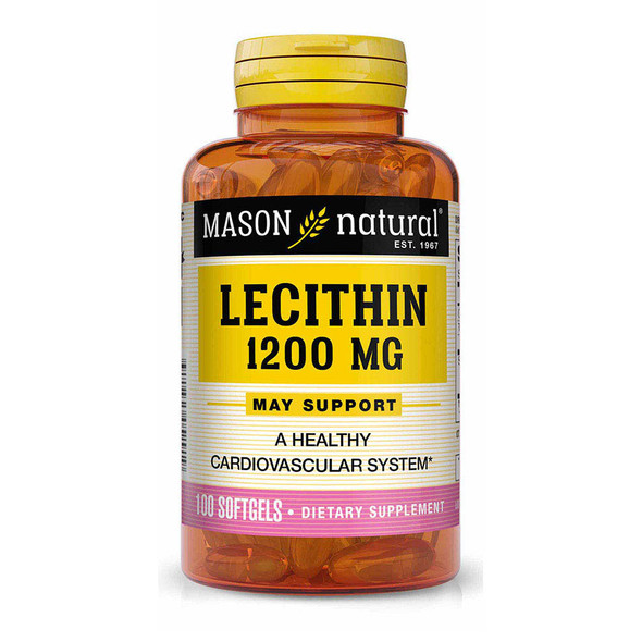 Mason Natural Lecithin 1200 mg Softgels - 100ct