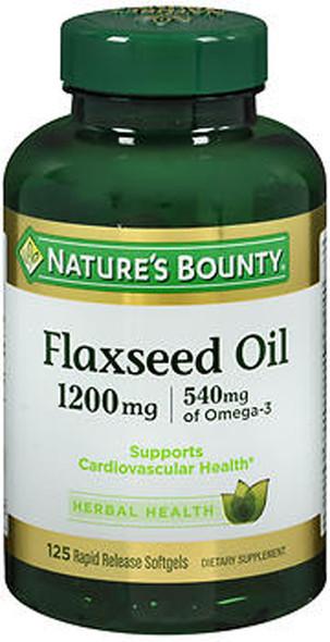 Nature's Bounty Flax Oil 1200 mg - 100 Softgels