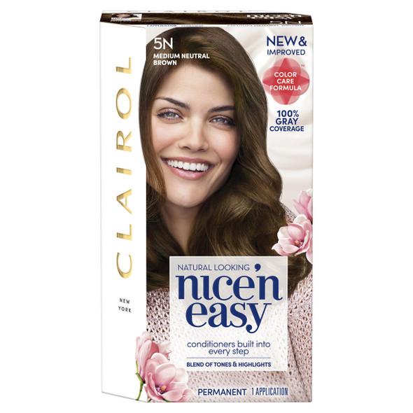 Clairol Nice 'n Easy Permanent Color - 5N Medium Neutral Brown