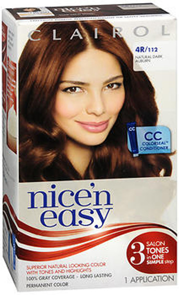 Clairol Nice 'n Easy Permanent Color - 4R/112 Natural Dark Auburn
