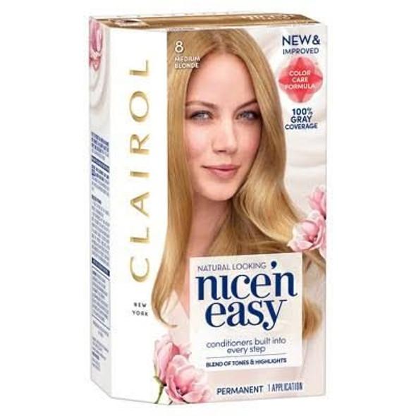 Clairol Nice 'n Easy Hair Color  8 Medium Blonde