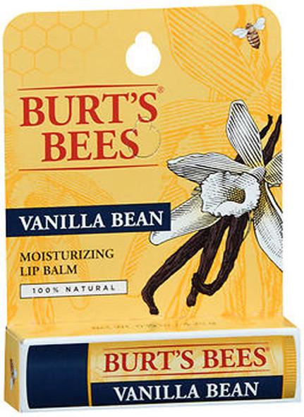 Burt's Bees Moisturizing Lip Balm Vanilla Bean - 6 ct