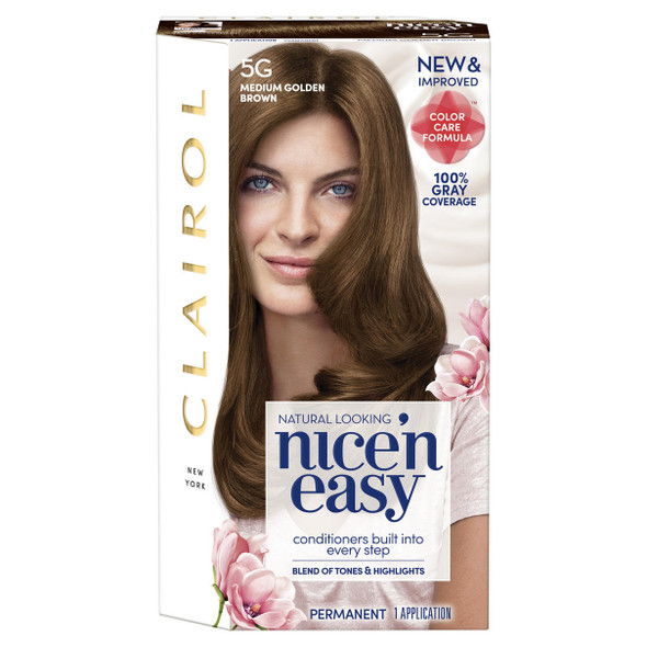 Nice 'n Easy Hair Color 5G Medium Golden Brown