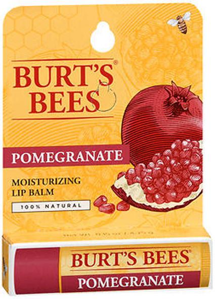 Burt's Bees Moisturizing Lip Balm Pomegranate - 6 ct