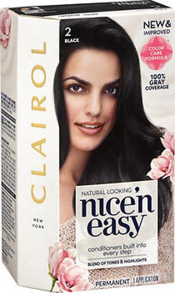 Nice 'n Easy Permanent Haircolor 2 Black