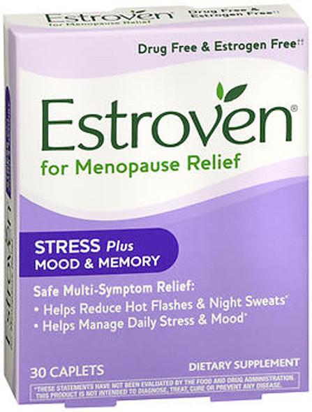 Estroven Stress, Mood & Memory Caplets - 30 Caplets