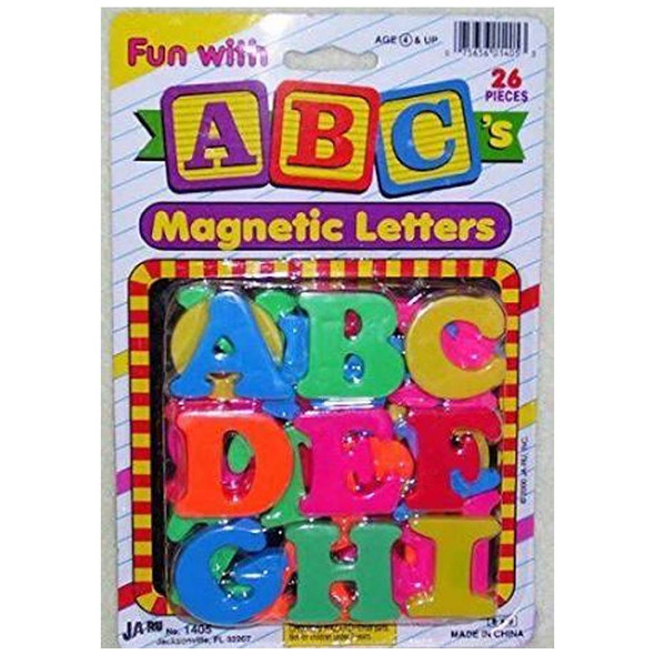 Magnetic Numbers/Letters,  - 1 pkg